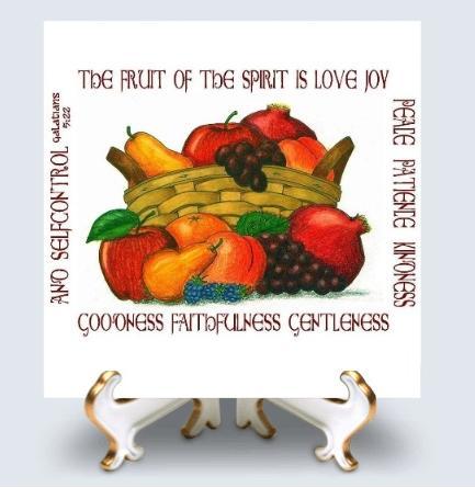 Tile fruit of the spirit