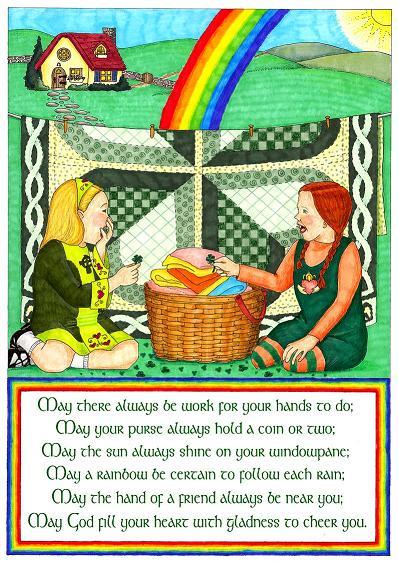 Irish Friendship Wish with text 1
